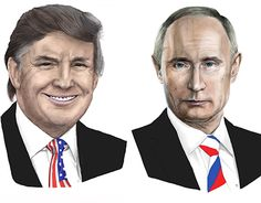 "Check out new work on my @Behance portfolio: ""The president. Russia. USA"" http://be.net/gallery/44682045/The-presidentRussia-USA"