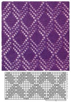 Lace - Knitting Kingdom Lace - Knitting Kingdom Knitting , lace processing is the most beautiful hobbies that ladies can not give up. Lace Knitting Stitches, Lace Knitting Patterns, Knitting Charts, Lace Patterns, Free Knitting, Stitch Patterns, Diy Crafts Knitting, Knitting Projects, Pull Crochet