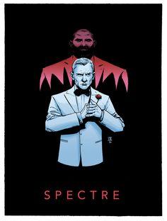 Cool Art: James Bond Series by Ibrahim Moustafa | Live for Films