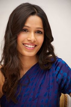 Freida Pinto - Page 15 - the Fashion Spot Beautiful Celebrities, Beautiful Actresses, Native American Girls, Freida Pinto, Beautiful Girl Image, Beautiful Ladies, Le Jolie, Dangerous Woman, Hair Today