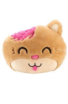 Kitty Plush Pillow, Drop Dead Clothing
