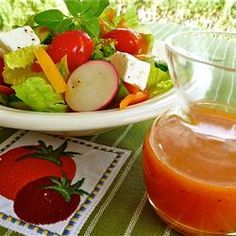 Frenchie's Salad Dressing Allrecipes.com This was a dressing that I loved as a kid.  When I grew up no one remembered the recipe.