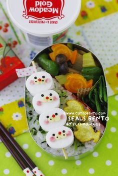Seals Bento | Flickr - Photo Sharing!
