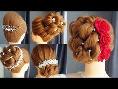5 Quick Hairstyle For Wedding Guest - Hairstyle For Women Fast Hairstyles, Easy Hairstyles For Long Hair, Different Hairstyles, Girl Hairstyles, Braided Hairstyles, Beautiful Hairstyles, Diy Wedding Hair, Wedding Guest Hairstyles, Medium Hair Styles