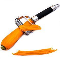 http://ift.tt/1OIz7qw Twinzee PRO Dual Scheibenschneider und Gemüseschäler  Anti-Rutsch-Griff  Hervorragendes Küchenutensil für die Zubereitung von schmackhaften Salaten und Veggie-Nudeln %&$tikoly#