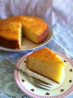 How to make butter cakes not so fat, and lower in calories - and a great recipe! See inside