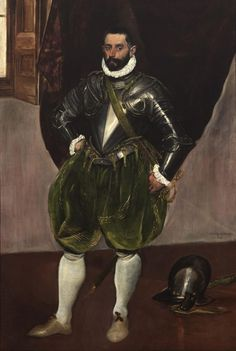 El Greco, Portrait de Vincenzo Anastagi, ca. 1575 | The Frick Collection