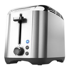 Speed up breakfast with the Black & Rapid Toast Toaster. Built to toast 50 faster than previous models, this toaster delivers efficient performance with a variety of shade options. Stainless Steel Toaster, Brushed Stainless Steel, Bread Toaster, Best Toasts, Frozen Waffles, Types Of Bread, Steel House, Specialty Appliances, House Made