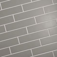 Merola Tile Metro Soho Subway Matte Light Grey 1-3/4 in. x 7-3/4 in. Porcelain Floor and Wall Tile (1 sq. ft. / pack)-FMTSHML - The Home Depot