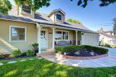 Charming Cap Code style home in San Rafael's Marinwood area