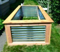 Metal Raised Garden Bed Full Image For Corrugated Metal Raised Corrugated Raised Garden Beds