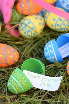 Fun Energy Burning Easter Egg Hunt