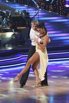 Still of Nicole Scherzinger and Derek Hough in Dancing with the Stars