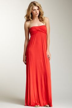 Wrap Bust Maxi Dress by S.H.E. on @HauteLook