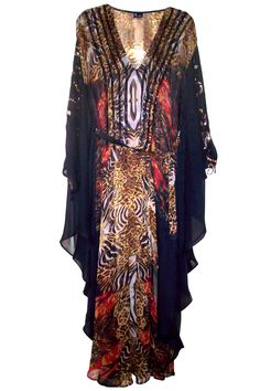 Parides Official Website, Parides Printed Kaftan Dresses / Long ...