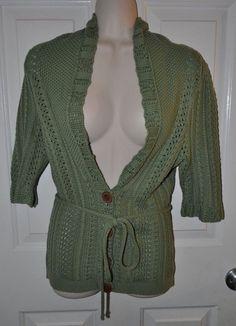 Brunella Gori Turtleneck Sweater Large Merino Wool Dark Brown Long ...