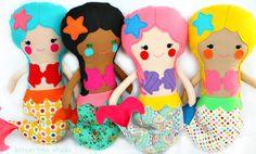 Create Your Own Mermaid Doll -- Custom Made Sea Beauty
