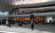 New Western Concourse at King's Cross station