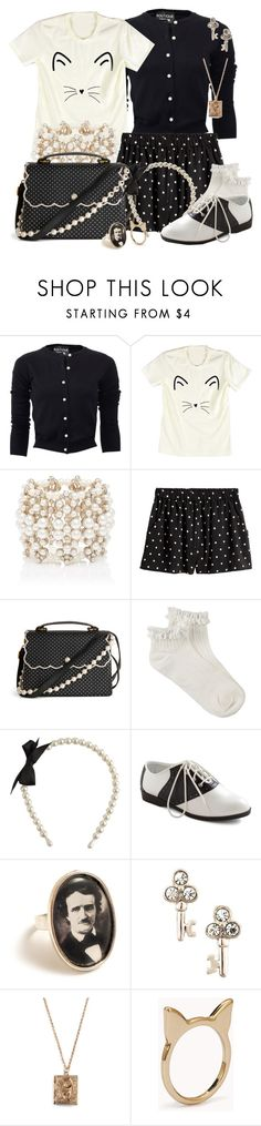 """""""Warnings at Waverly Academy"""" by detectiveworkisalwaysinstyle ❤ liked on Polyvore featuring Boutique Moschino, Forever New, Wet Seal, Pinup Couture, Juicy Couture, Tulle Clothing and Forever 21"""