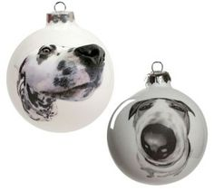 Reiko Kaneko have been on our radar for a while now, and we're so excited that we can finally introduce you to these delightful Christmas baubles. #Christmas #Dog #decorations