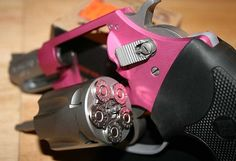 PINK and a revolver! LOVE! :)