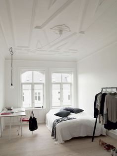 soft minimalist bedroom