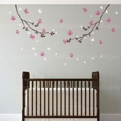 Butterfly Branches Wall Decal
