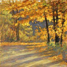 "100-01 | oil on canvas | 12 x 12"" | 2001"