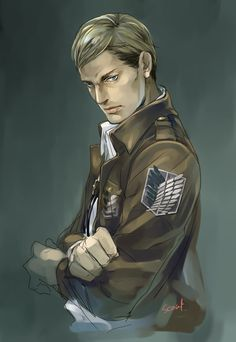 Erwin (Attack on Titan) I actually prefer this are over others