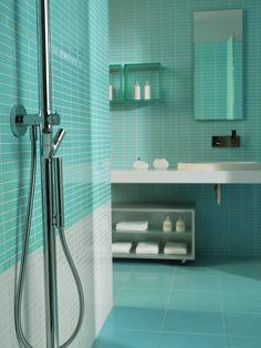 Fresh - Wall tiles ceramic for kitchen and bathroom Loft Interior Design, Sauna Room, Loft Interiors, Bathroom Design Luxury, Bathroom Organization, Shower Heads, Wall Tiles, Chrome, New Homes