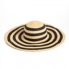 Glamorous Floppy Straw Hat