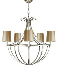 METAL CHANDELIER IMPERO in Chandeliers > Metal from Villaverde