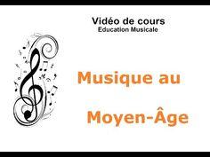 """Vidéo de cours - """"Musique au moyen-Âge"""" - YouTube"""