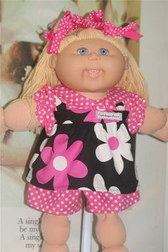 DOLL CLOTHES -  CABBAGE PATCH DOLL 16 INCH HIGH