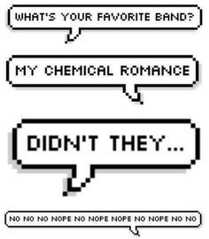 March 22, 2013-infinity, cuz Killjoys never die. Happy My Chemical Romance day!! Anyone need a Kleenex?