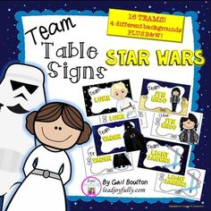 Team Table Signs (ST