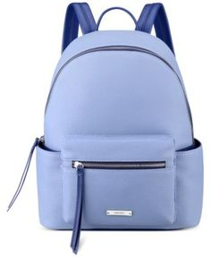 Nine West Taren Backpack - Backpacks - Handbags & Accessories - Macy's Nine West, Fashion Backpack, Backpack Handbags, Rucksack Bag, Leather Backpack, Blue Bags, My Bags, Handbag Accessories, Shopping