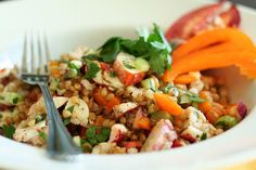 Wheat Berry and Lobster Salad Lobster Risotto, Lobster Pasta, Lobster Salad, Grilled Lobster, Crab And Lobster, Lobster Meat, Seafood Salad, Seafood Platter, Lobster Recipes