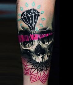 Abstract Skull Tattoo by Timur Lysenko?