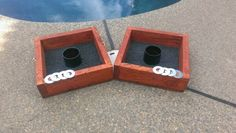 JR Custom Cornhole Boards is pleased to announce we will be making Washer Toss Boxes.