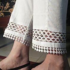 Sleeves Designs For Dresses, Dress Neck Designs, Stylish Dress Designs, Salwar Designs, Kurti Designs Party Wear, Salwar Pants, Kurta Neck Design, Stylish Dresses For Girls, Pants Pattern