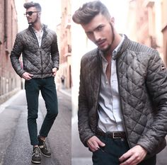 Get this look: http://lb.nu/look/7397524  More looks by Gian Maria Sainato: http://lb.nu/gianmaria  Items in this look:  O.X.S., Colmar, Persol   #casual #chic #street