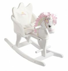 Princess Rocking Horse which comes with a strap.  £79.99