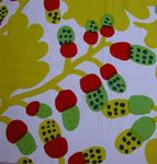 Perhaps Marimeko fabric.