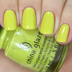 China Glaze — Trip Of A Lime Time (Road Trip Collection | Spring 2015)