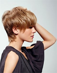 chic short cut....love this!