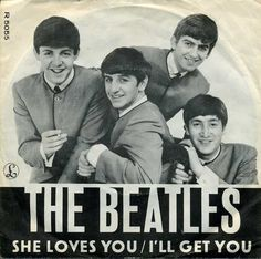 July 1, 1963 - The Beatles recorded their next single 'She Loves You' / 'I'll Get You', at EMI Studios, London, completing the two songs in less than four hours. Released in August this year, 'She Loves You' went on to become The Beatles' first million-selling single.
