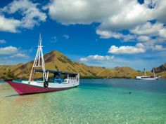 Komodo National Park is located between the islands of Sumbawa and Flores in Indonesia and consists of Komodo, Rinca, Padar and other smaller islands. Komodo National Park, National Parks, Sailing Adventures, Small Island, Boat, Dinghy, Boats, Ship