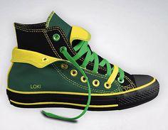 Avengers Style Design-Your-Own Converse Design Your Own Converse, Converse Design, Converse Style, Converse Shoes, Galaxy Converse, Converse All Star, Converse Chuck Taylor, Loki, Tennis Vans