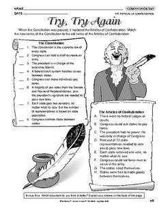 Articles of Confederation vs Constitution: